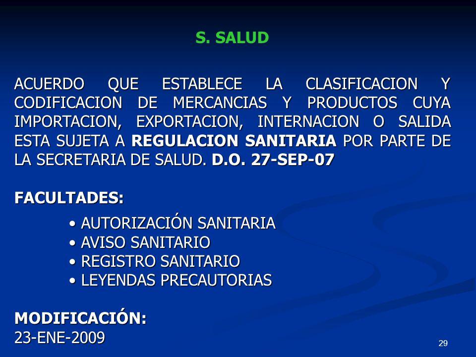 S. SALUD