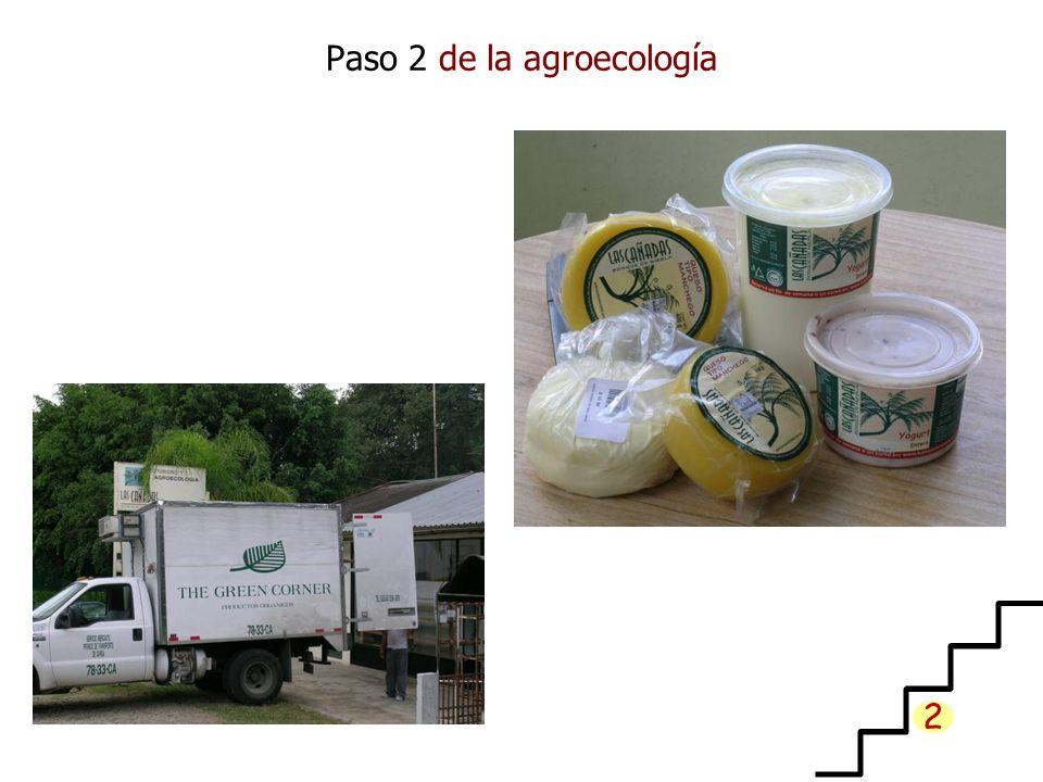 Paso 2 de la agroecología