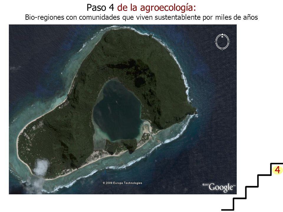Paso 4 de la agroecología: Bio-regiones con comunidades que viven sustentablente por miles de años