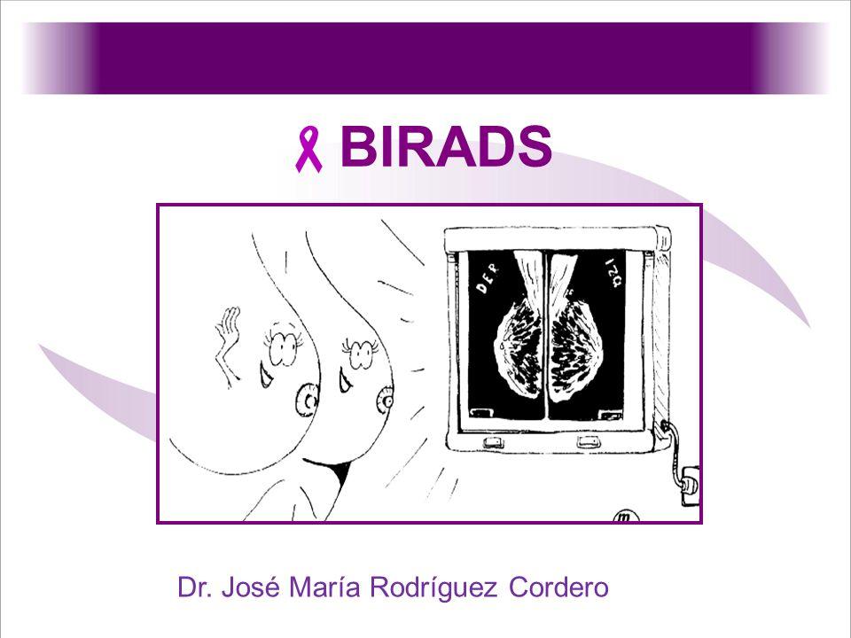 BIRADS Dr. José María Rodríguez Cordero