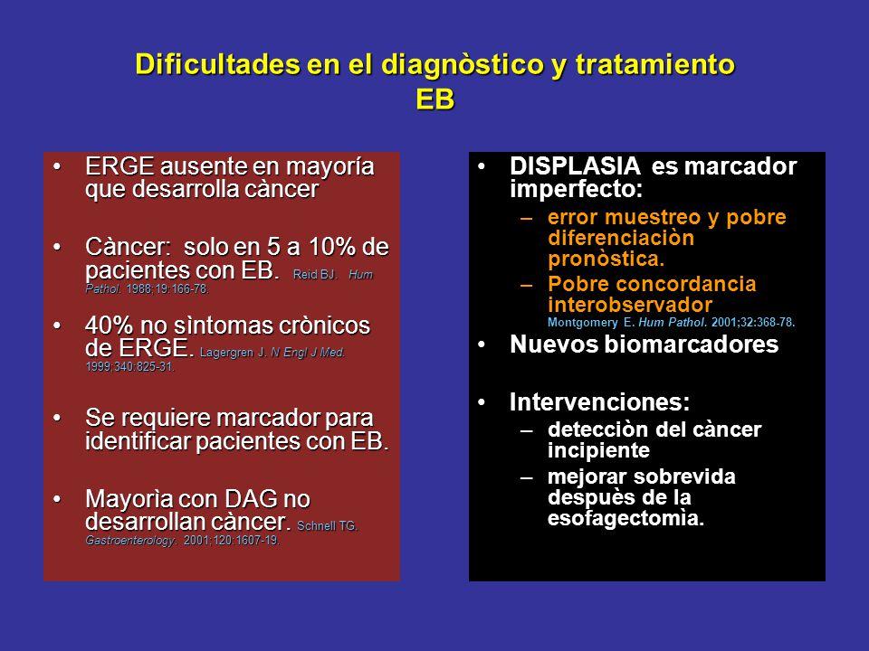 Dificultades en el diagnòstico y tratamiento EB