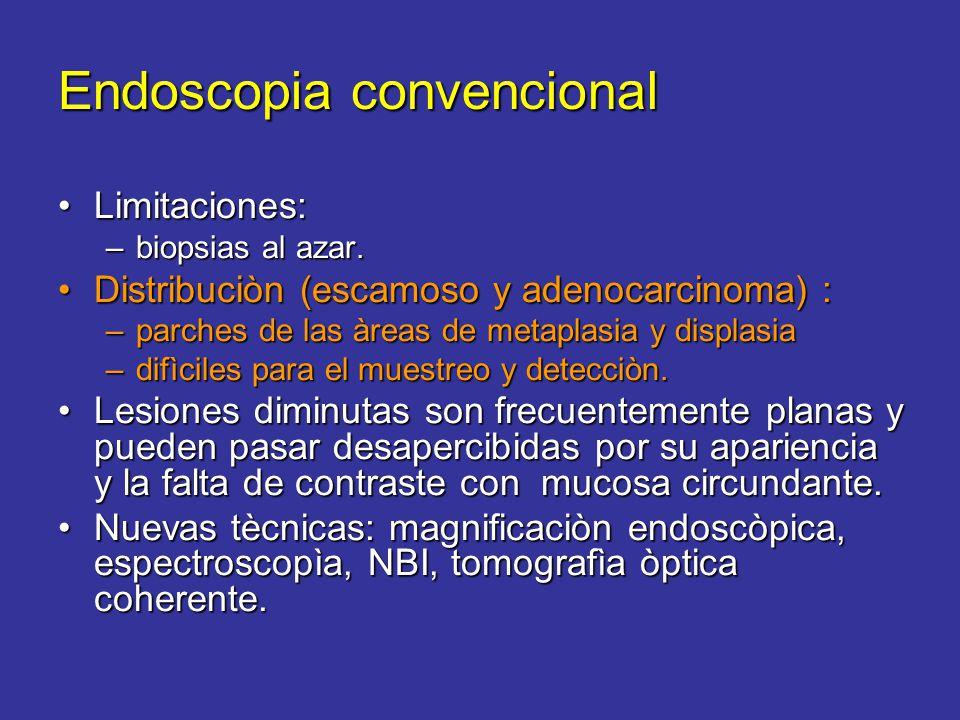 Endoscopia convencional