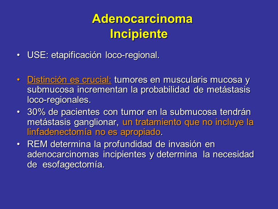 Adenocarcinoma Incipiente