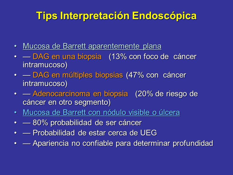 Tips Interpretación Endoscópica