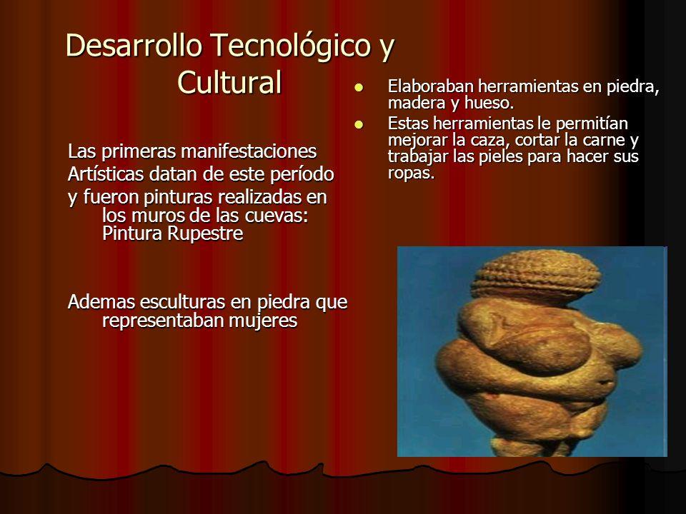 Desarrollo Tecnológico y Cultural