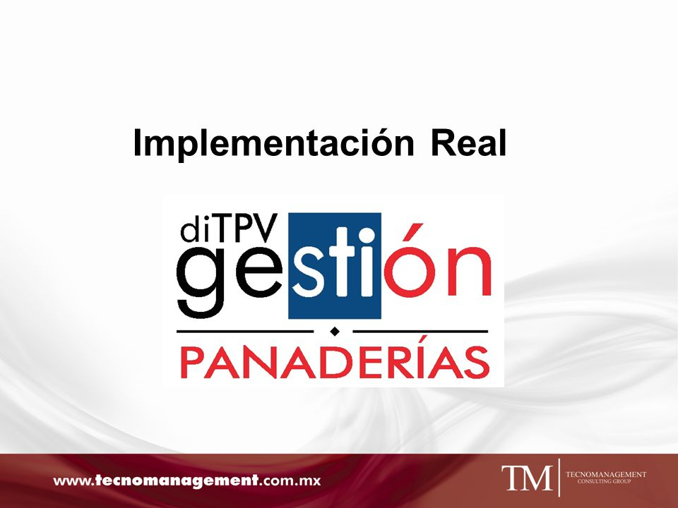 Implementación Real