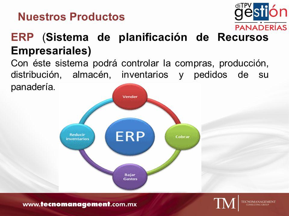 ERP (Sistema de planificación de Recursos Empresariales)