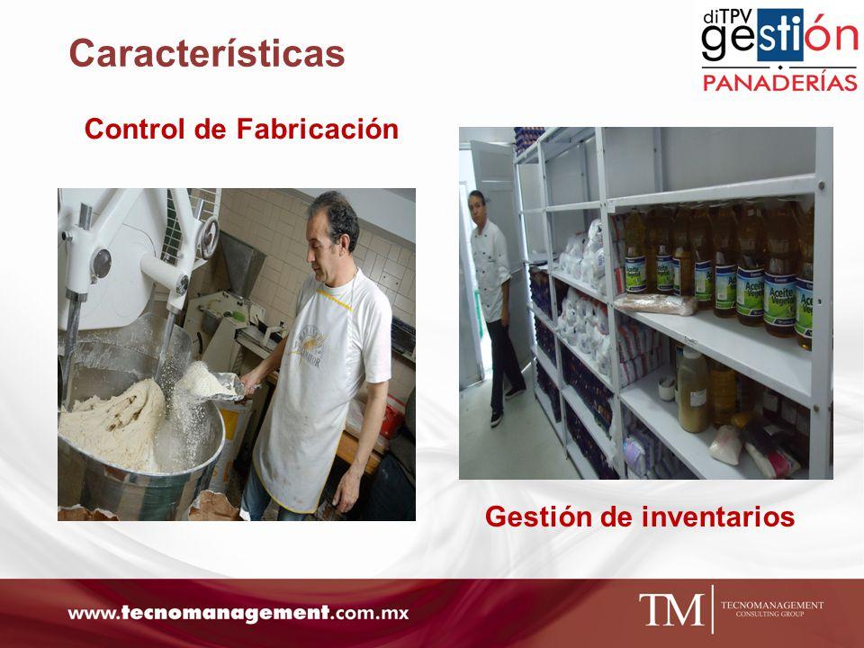 Control de Fabricación Gestión de inventarios