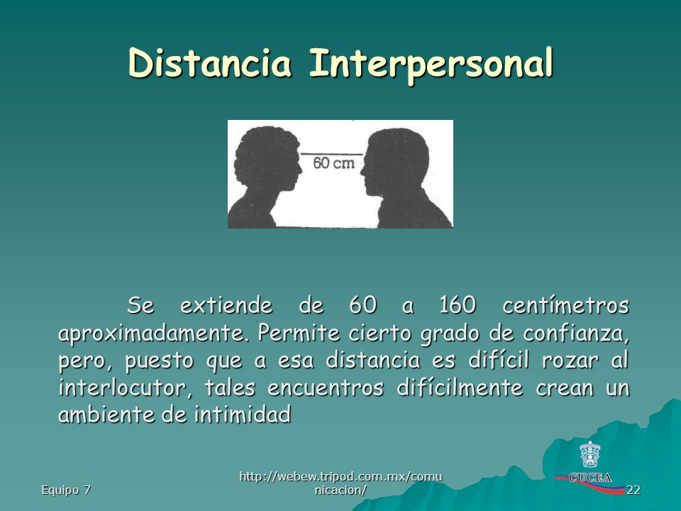 Distancia Interpersonal