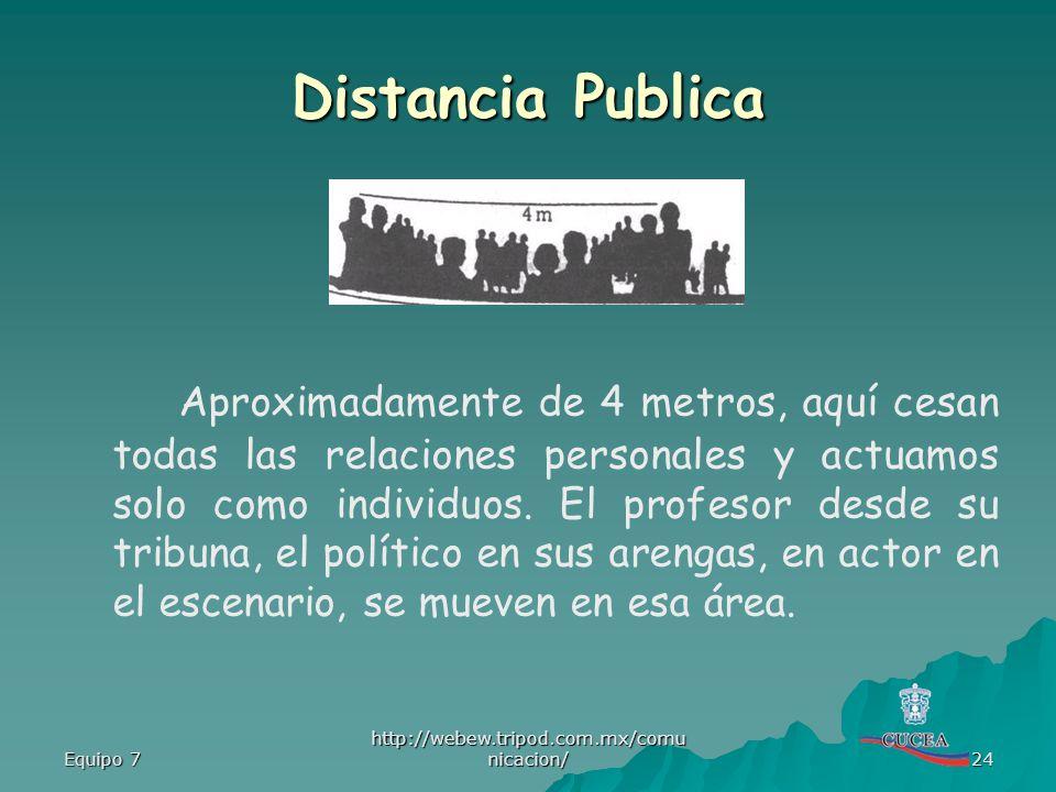 Distancia Publica