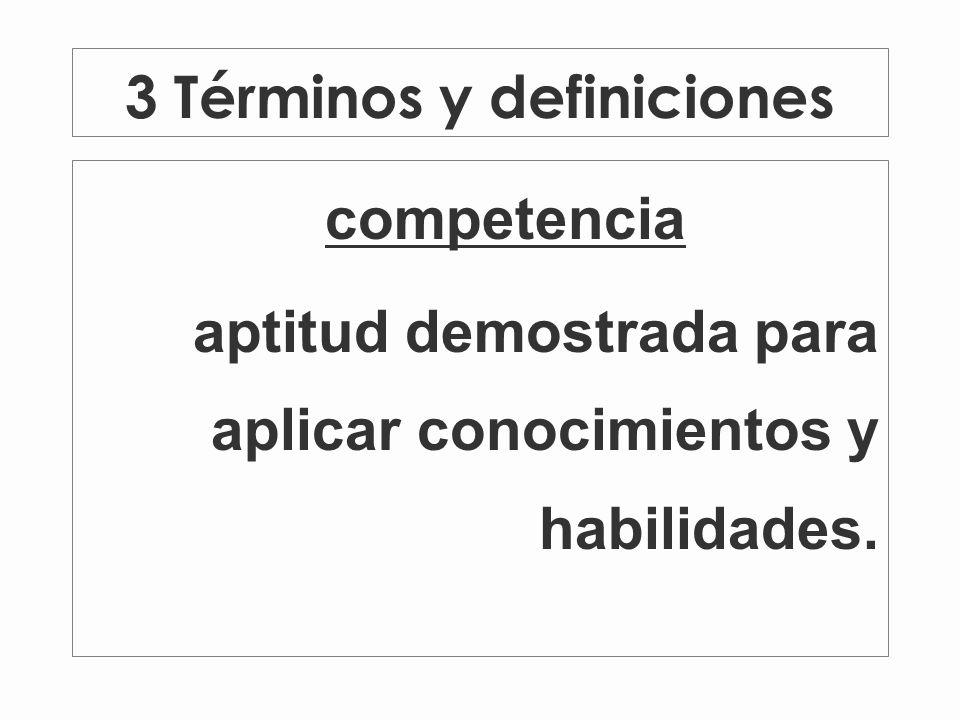 3 Términos y definiciones