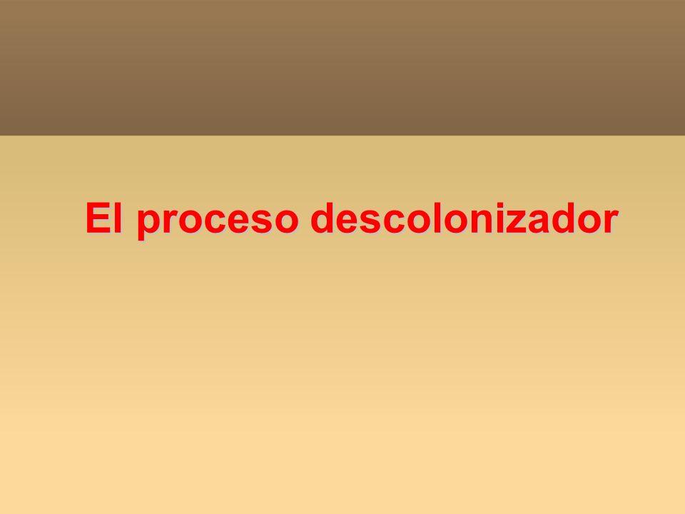 El proceso descolonizador