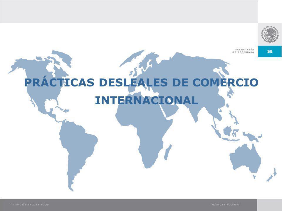 PRÁCTICAS DESLEALES DE COMERCIO INTERNACIONAL