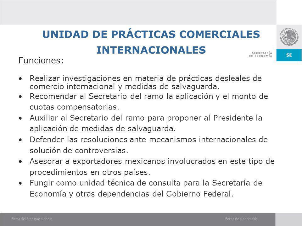 UNIDAD DE PRÁCTICAS COMERCIALES INTERNACIONALES