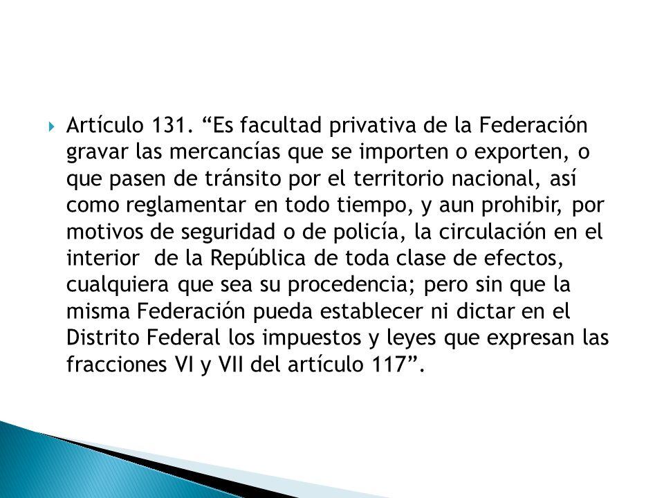 Artículo 131.