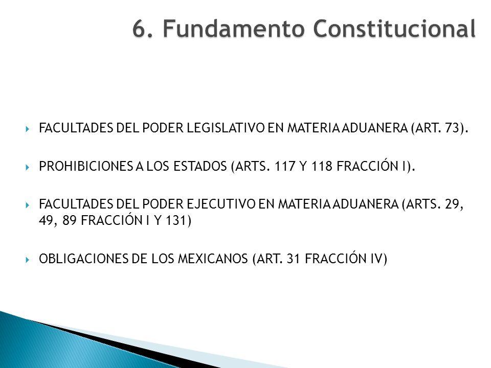 6. Fundamento Constitucional