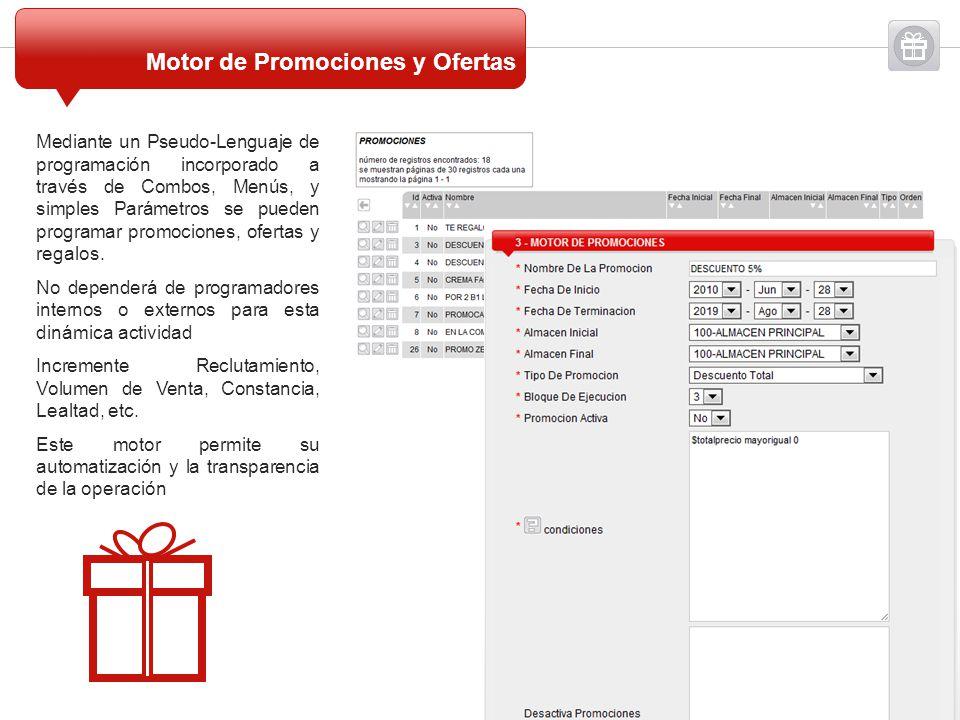 Motor de Promociones y Ofertas