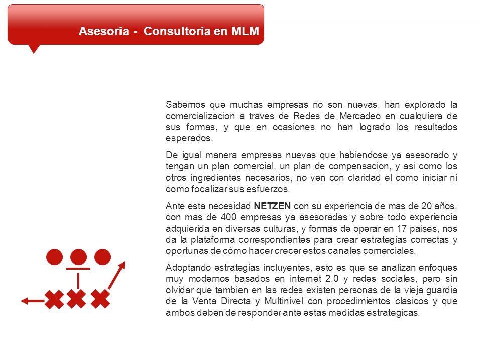 Asesoria - Consultoria en MLM