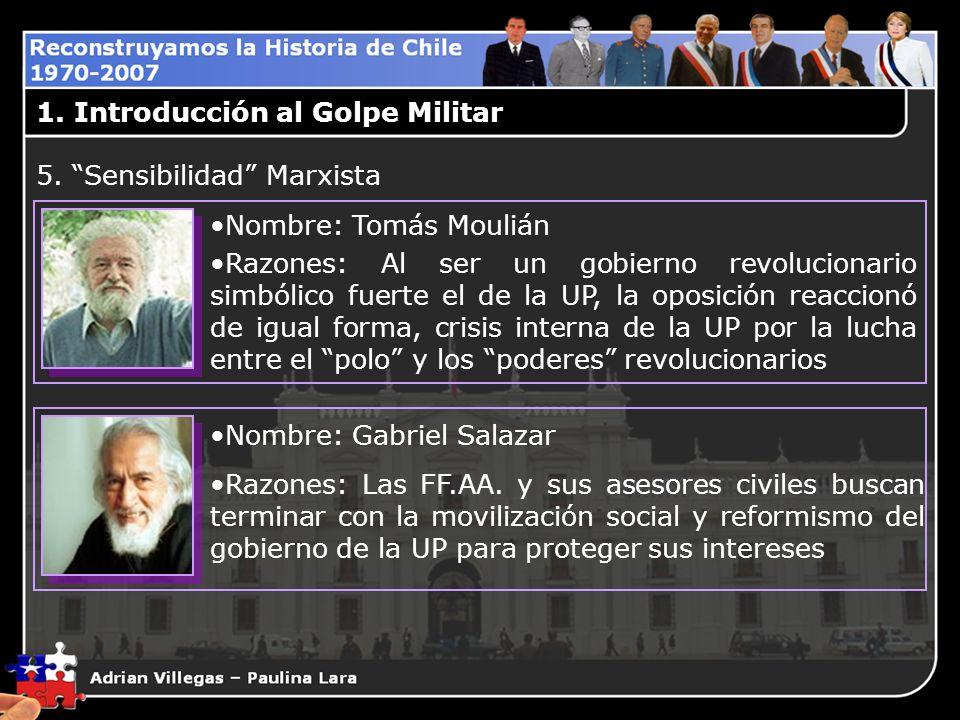 1. Introducción al Golpe Militar