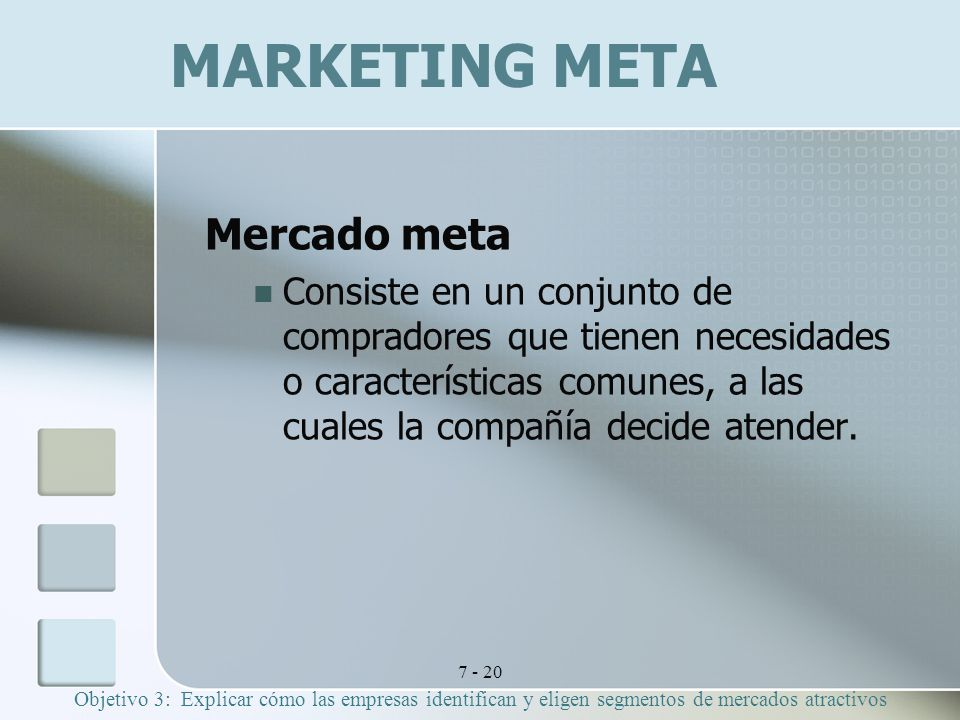MARKETING META Mercado meta