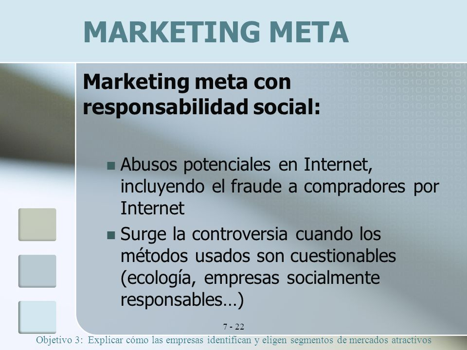 MARKETING META Marketing meta con responsabilidad social:
