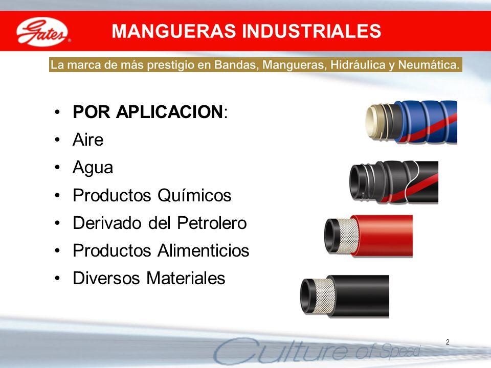 MANGUERAS Y ACCESORIOS PARA GAS
