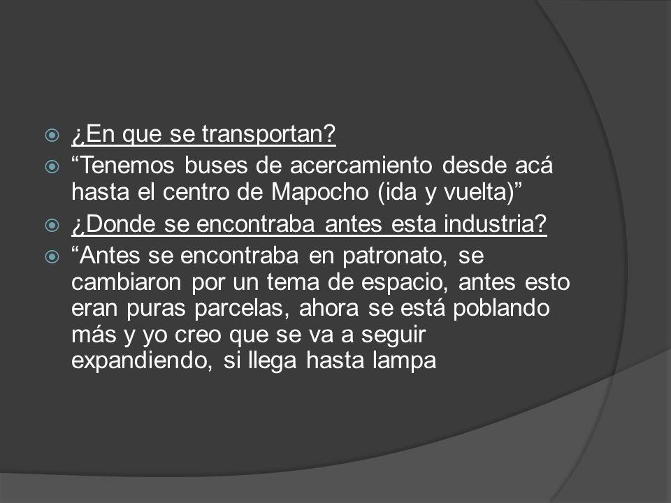 ¿En que se transportan Tenemos buses de acercamiento desde acá hasta el centro de Mapocho (ida y vuelta)