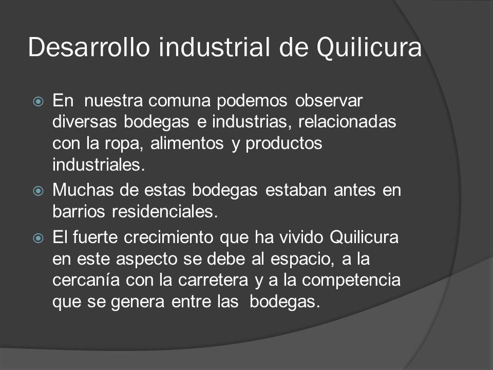 Desarrollo industrial de Quilicura
