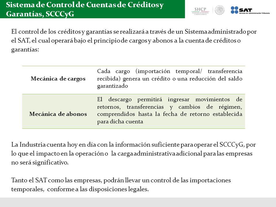 Sistema de Control de Cuentas de Créditos y Garantías, SCCCyG
