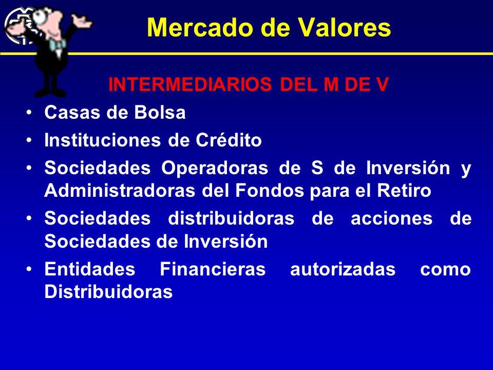 INTERMEDIARIOS DEL M DE V