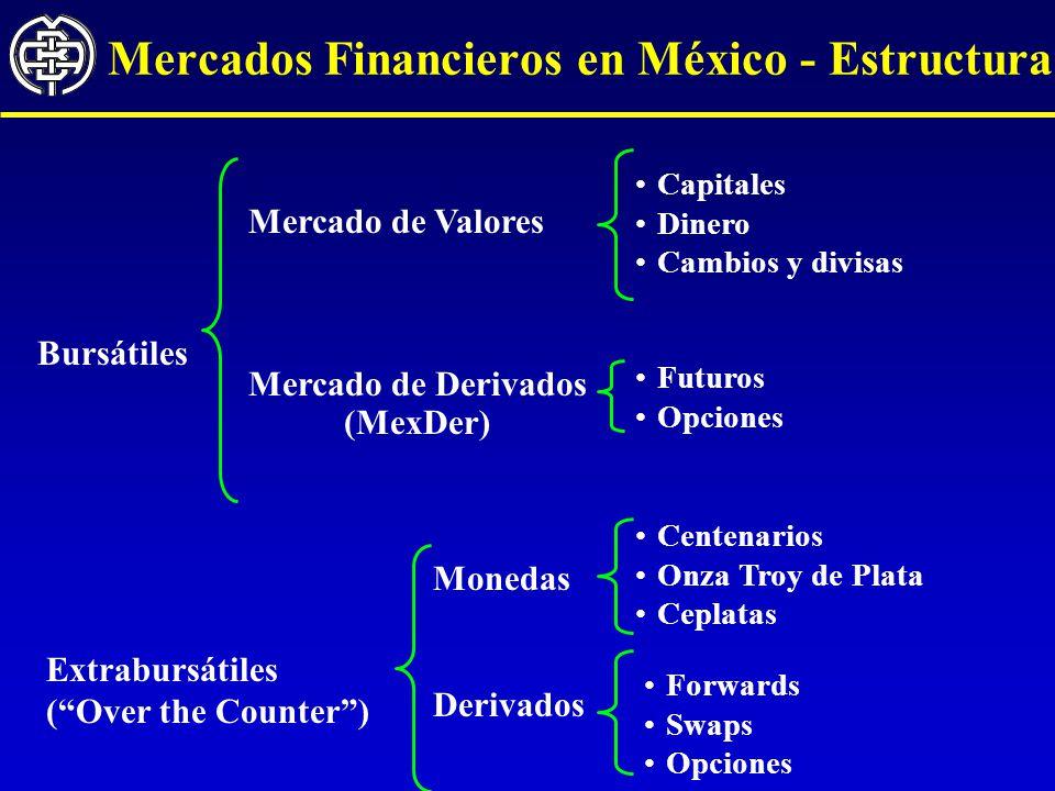 Mercados Financieros en México - Estructura