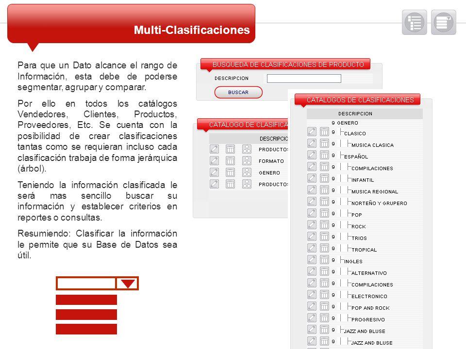 Multi-Clasificaciones