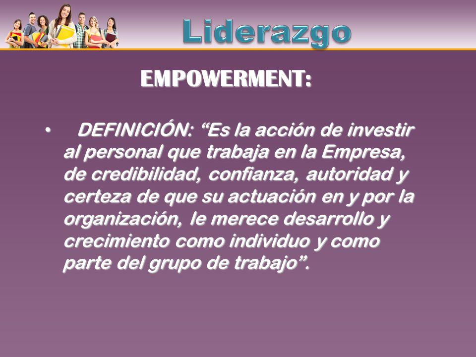 Liderazgo EMPOWERMENT: