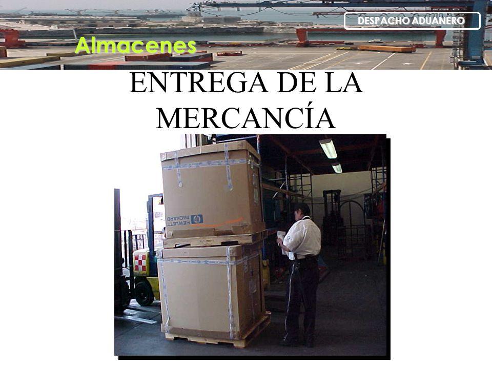 ENTREGA DE LA MERCANCÍA
