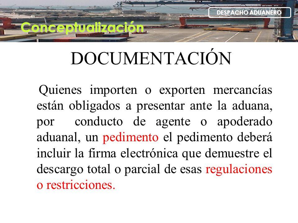 DOCUMENTACIÓN Conceptualización