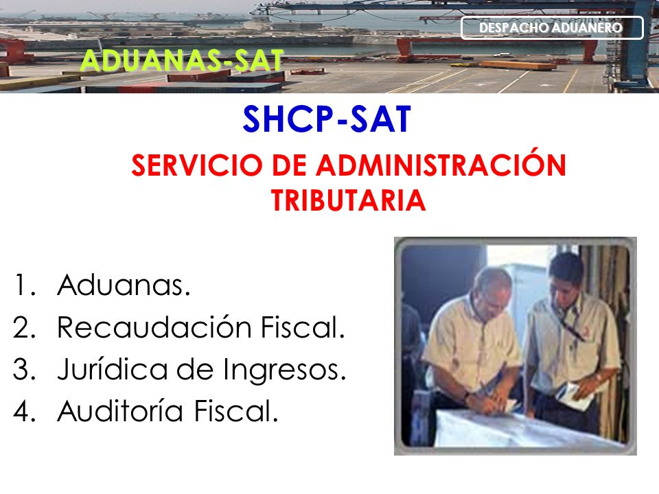 SERVICIO DE ADMINISTRACIÓN TRIBUTARIA