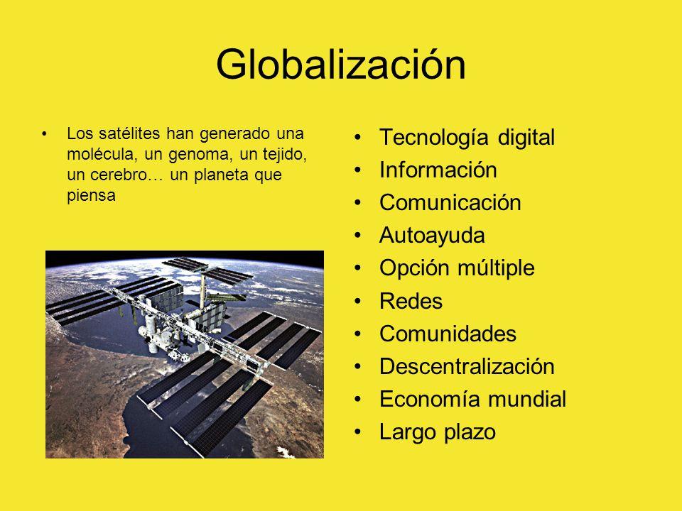 Globalización Tecnología digital Información Comunicación Autoayuda
