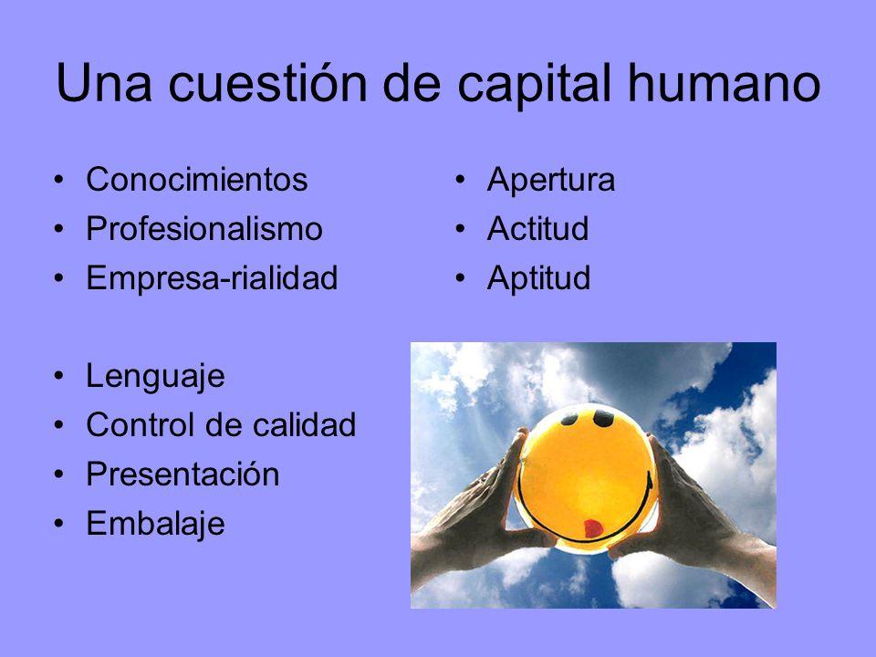 Una cuestión de capital humano