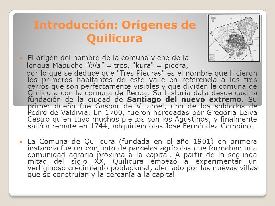 Introducción: Orígenes de Quilicura