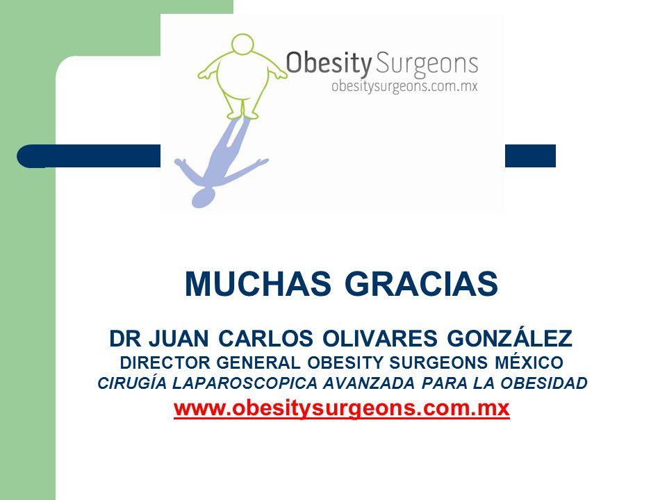 MUCHAS GRACIAS DR JUAN CARLOS OLIVARES GONZÁLEZ