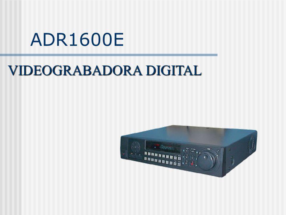 ADR1600E VIDEOGRABADORA DIGITAL