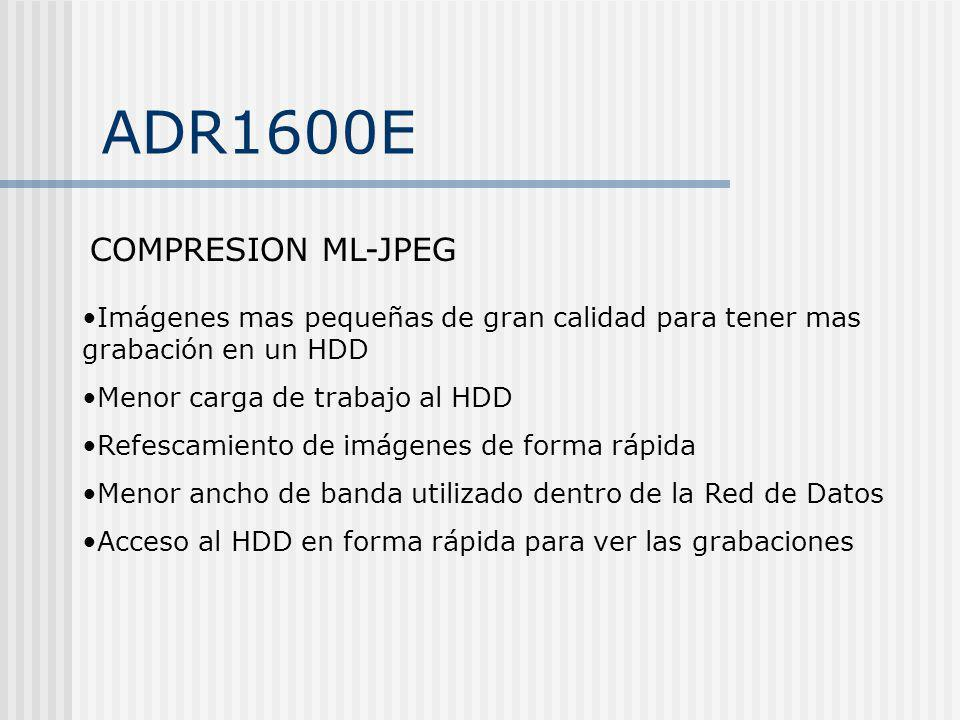 ADR1600E COMPRESION ML-JPEG