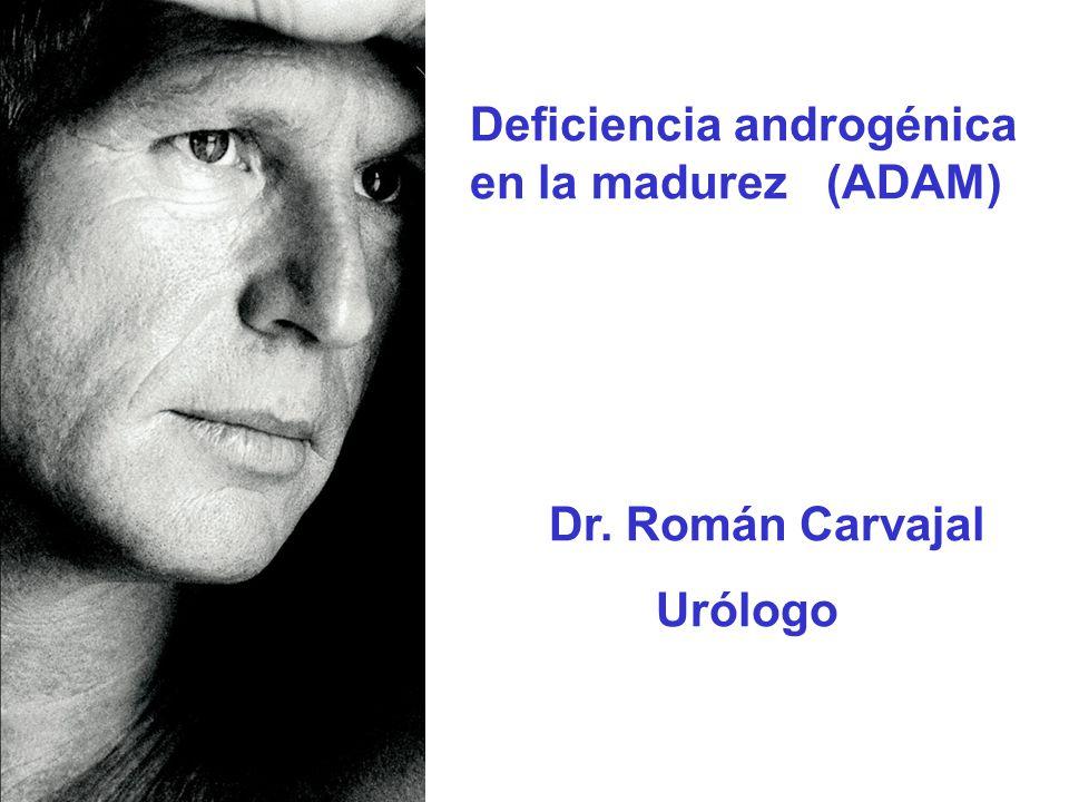 Deficiencia androgénica en la madurez (ADAM)