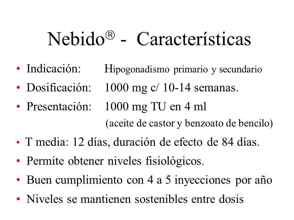 Nebido - Características
