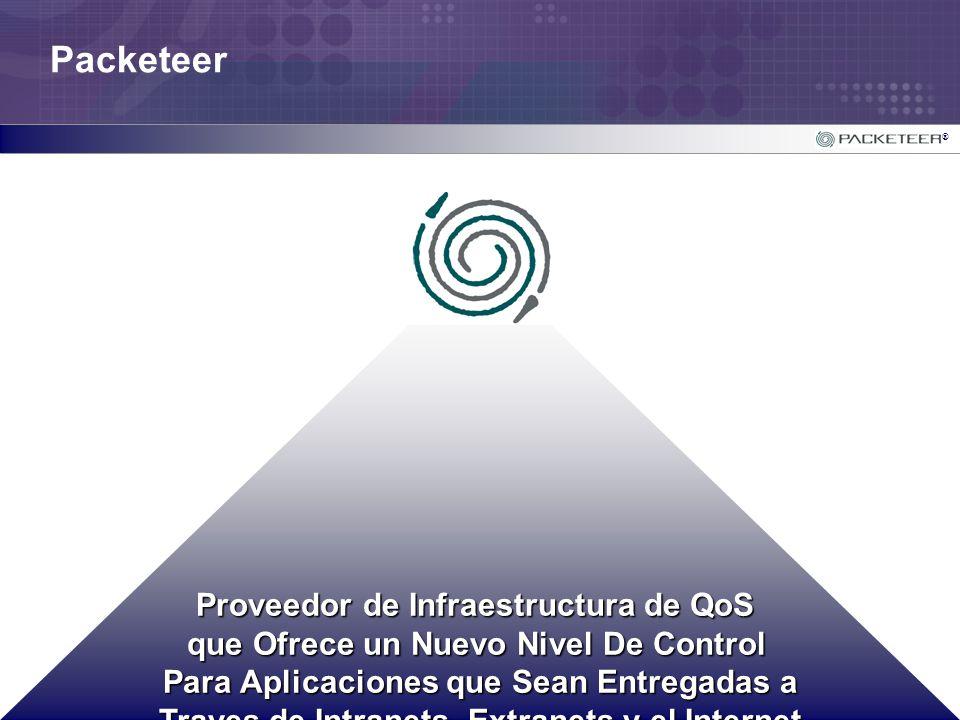Packeteer Proveedor de Infraestructura de QoS
