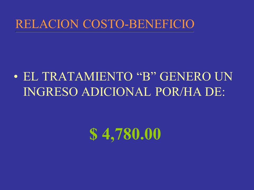 RELACION COSTO-BENEFICIO