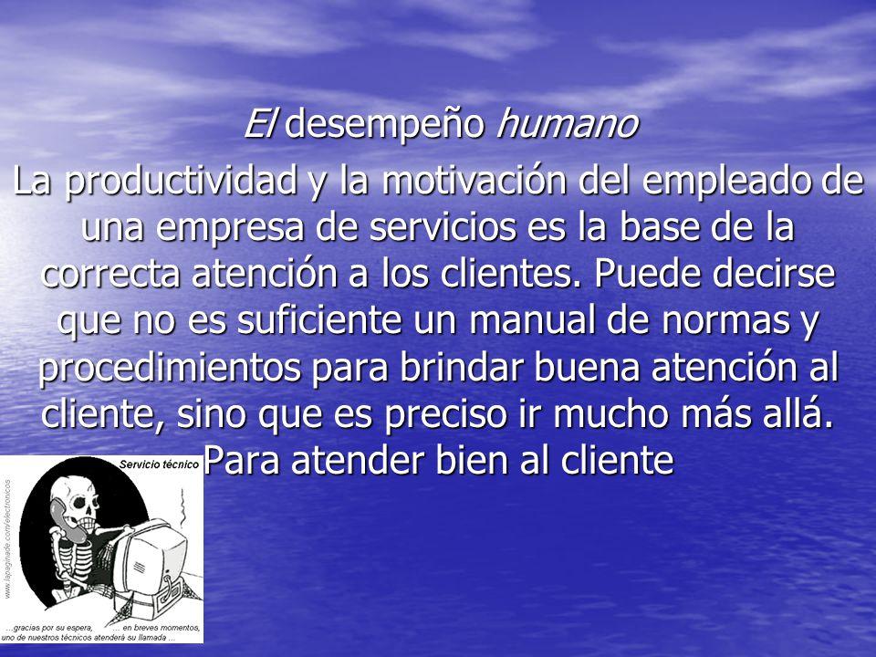 El desempeño humano