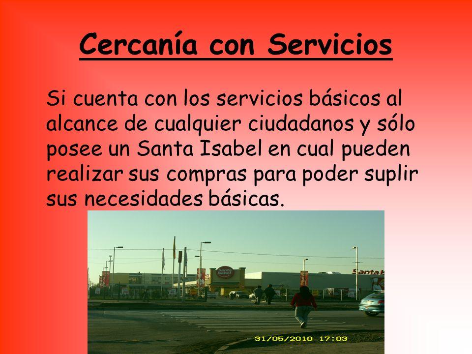 Cercanía con Servicios