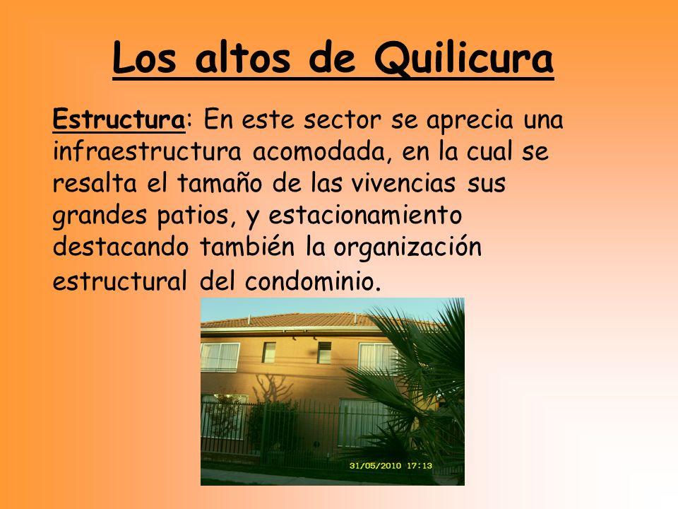 Los altos de Quilicura