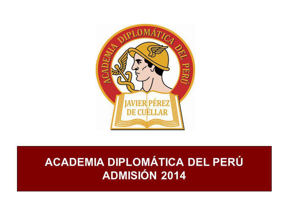 ACADEMIA DIPLOMÁTICA DEL PERÚ